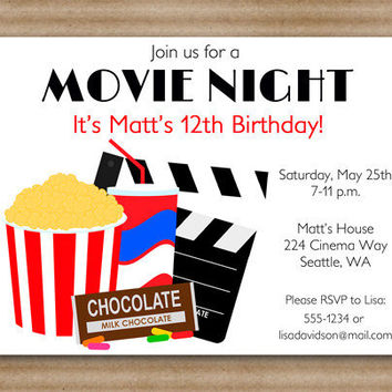 Hollywood Party Invites is awesome invitation sample