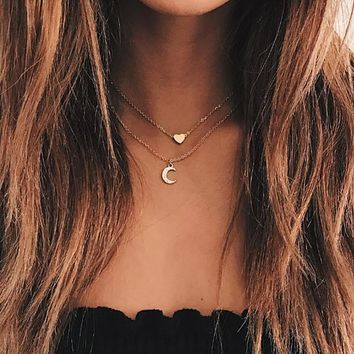 Moon Dainty Necklaces