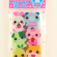 Cuteness Eraser Set