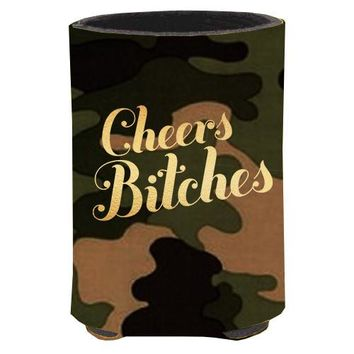 Cheers Bitches Koozie