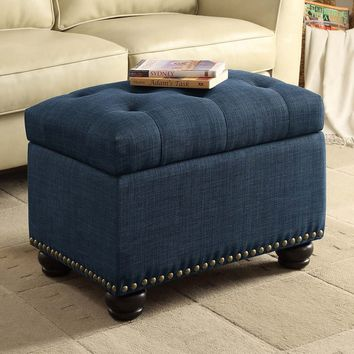 Convenience Concepts 5th Avenue Storage Ottoman - Ottomans at Hayneedle