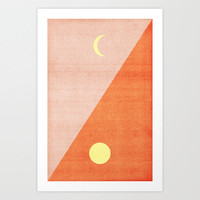 Last Days of Summer. Art Print by Nick Nelson | Society6