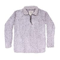 Frosty Tipped Women's Stadium Pullover in Heather by True Grit (Dylan)