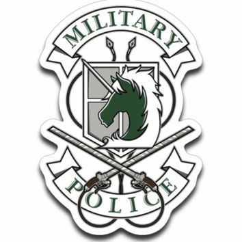 Military Police Sticker Decal