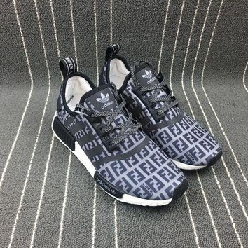 PEAP8KY Adidas Boost Nmd Fendi x R1 Women Men Fashion Trending Running Sports Shoes