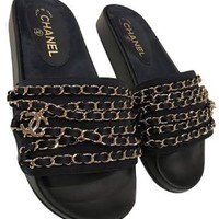 chanel mule slides - Google Search