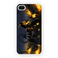 Pokemon Umbreom And Houndoom iPhone 4/4s Case
