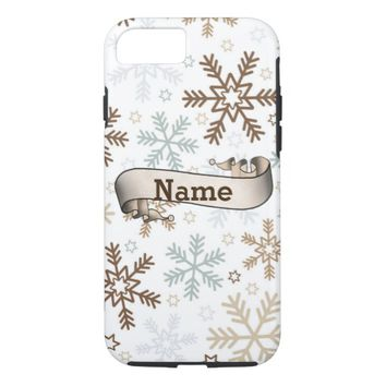 Winter Snowflakes iPhone 8/7 Case