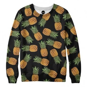 Pineapple Gang Crewneck Sweatshirt | All-Over Sublimation Sweatshirt