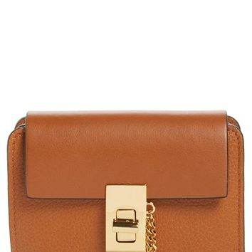 Chloé Drew Leather Square Wallet | Nordstrom