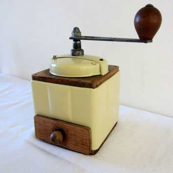 French Vintage Peugeot Coffee Grinder/ Mill 1920's