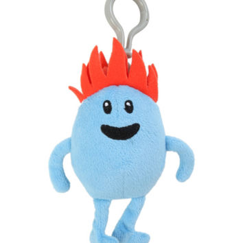 Dumb Ways To Die Fire Clip-On Plush