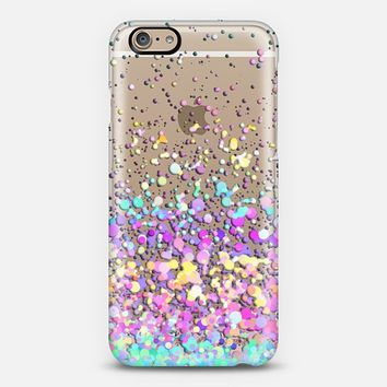 Candy Paint Rain Transparent iPhone 6 case by Organic Saturation | Casetify