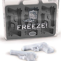 PLASTICLAND - FREEZE! Guns Ice Cube Tray