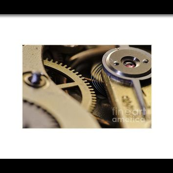 The Heart Of A Watch 4 Framed Print