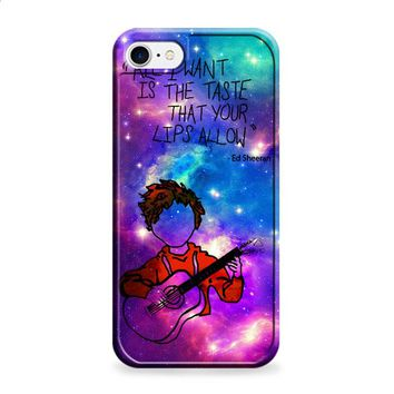 ED Sheeran Guitar Galaxy 1 iPhone 6 | iPhone 6S case