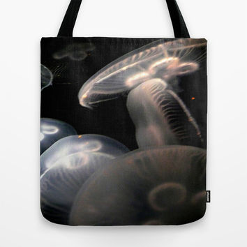 Jellyfish Tote Bag by UMe Images