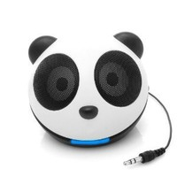 GOgroove Panda Pal High-Powered Portable Laptop and MP3 Speaker System