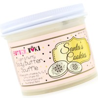 SANTA'S COOKIES Body Butter Soufflé Holiday Collection 2018