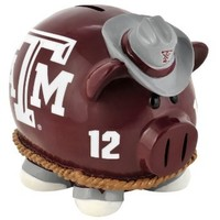 NCAA Texas A&M Aggies Resin Large Thematic Piggy Bank