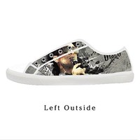 Custom Panic At The Disco Women's Canvas Shoes Fashion Shoes for Women