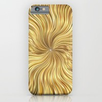 Golden waves - for iphone iPhone & iPod Case by Simone Morana Cyla