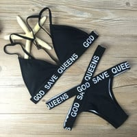Swimsuit Hot Beach New Arrival Summer Ladies Sexy Bandages Bikini [9377324420]