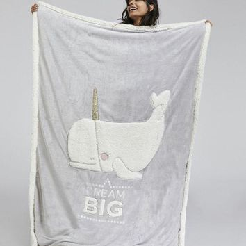 DCCKBA7 Oysho Manta dream big Blanket
