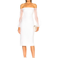 Cushnie et Ochs Raja Dress in White | FWRD