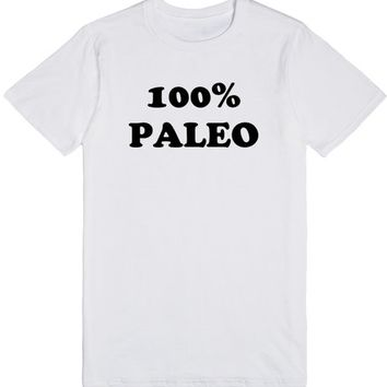 100% Paleo | T-Shirt | SKREENED
