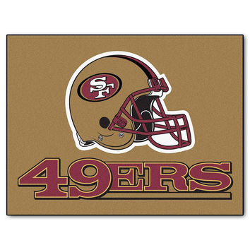 San Francisco 49ers NFL All-Star Floor Mat (34x45)