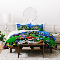 Renie Britenbucher Reading Is Magical Duvet Cover