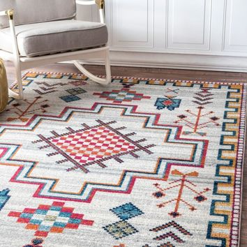 nuLOOM Richelle Tribal Medallion Area Rug