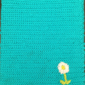 Blue Crochet iPad Cozy / Cover / Case