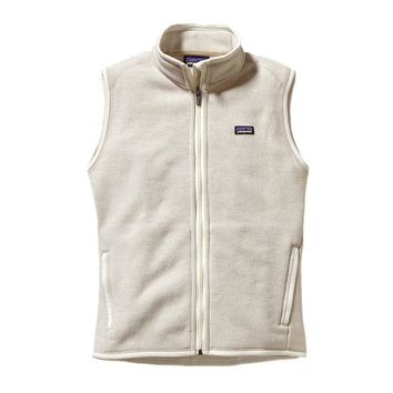 Patagonia Women's Better Sweater® Fleece Vest | Raw Linen