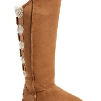 Australia Luxe Collective 'Spartan' Knit & Shearling Tall Boot (Women) (Wide Calf) | Nordstrom