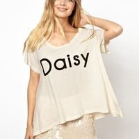 Wildfox Daisy T-Shirt