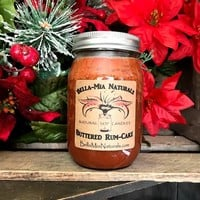 Buttered-Rum Cake Natural Hand Poured Soy Candles