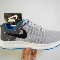 """Nike"" Men Sport Casual Multicolor Fly Weave Sneakers Running Shoes"