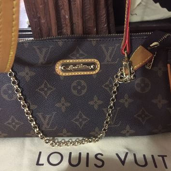 Louis Vuitton Transitional Clutch/ Shoulder Bag w wallet!!