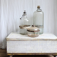 Antique Kerosene Bottle Collection, Owens Illinios