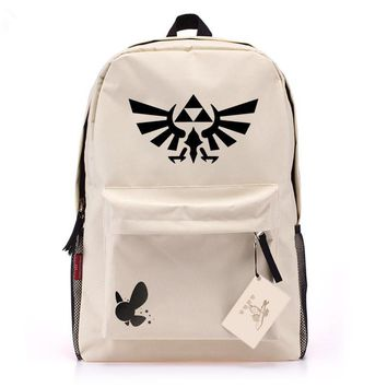 The Legend of Zelda Knapsack Mochilas Channel Backpack Tactique kd Backpack Women Backpack Laptop Bags Bolsas Free Shipping