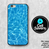 Water Blue iPhone 6s Case iPhone 6 Case iPhone 6 Plus iPhone 6s Plus iPhone 5c iPhone 5 iPhone SE Case Pool Water Summer Design Tumblr Cute