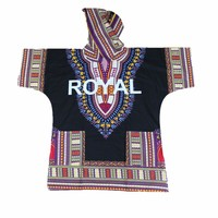 Royal Dashiki with Hood 100% Cotton