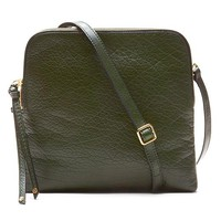 Banana Republic Green Double Pouch Crossbody Size One Size - Forest green