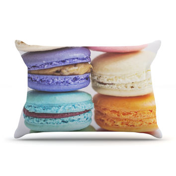 "Libertad Leal ""I Want Macaroons"" Pillow Case"