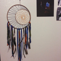 FREE SHIPPING || Sun & Moon Dreamcatcher || Bohemian || Hippie || Wall Decor || Apartment || Dorm