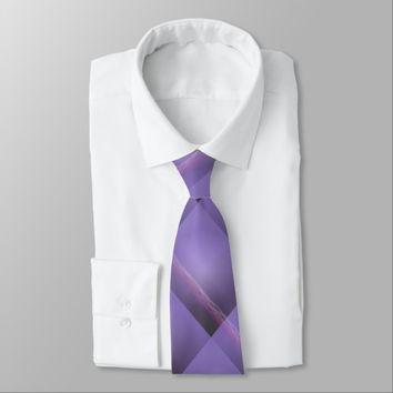 Purple Lights Neck Tie