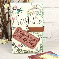 'Just The Ticket' Travel Wallet