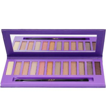 Joly® Cosmetic 12 Color NK3 Eyeshadow Eye Shadow Palettes Makeup